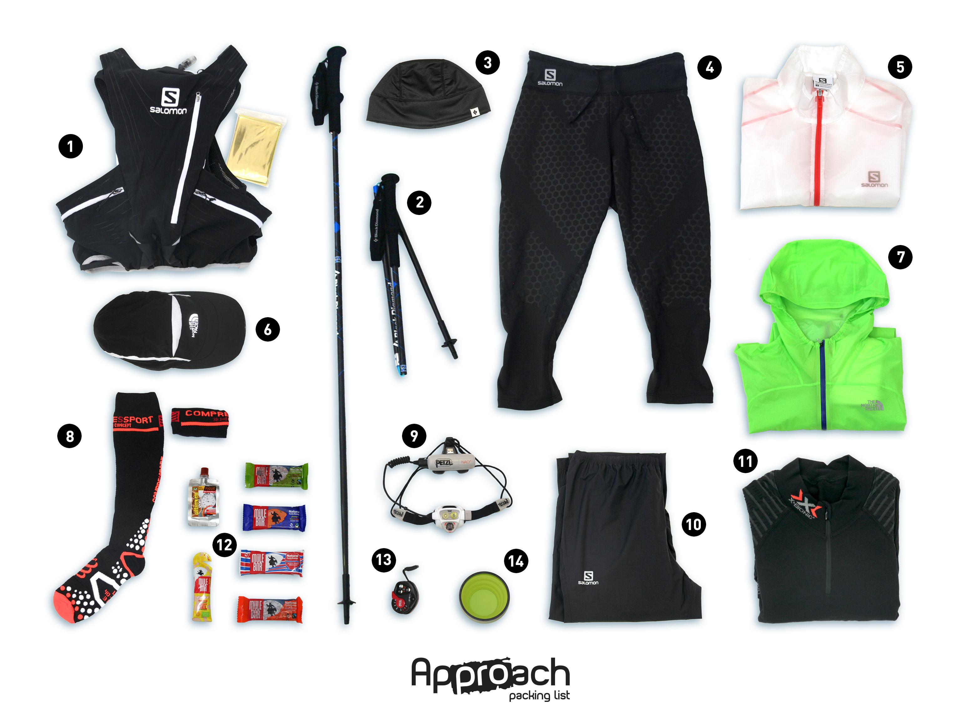 Approach packing list le mat riel obligatoire pour l 39 ultra trail du mont blanc approach outdoor - Tout a l egout obligatoire ...