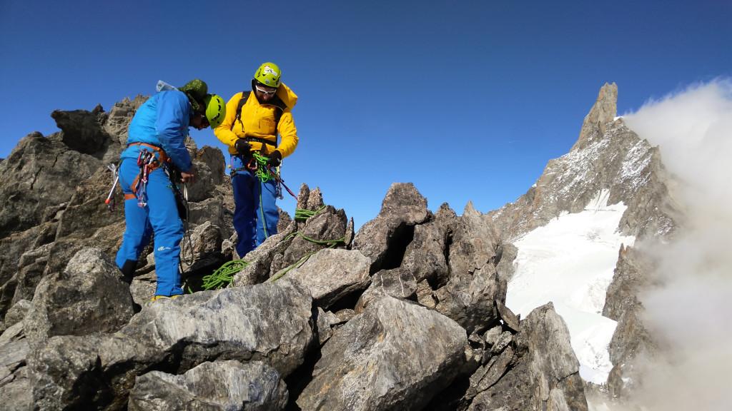 alpinisme : ascension d'un 4000 mètres