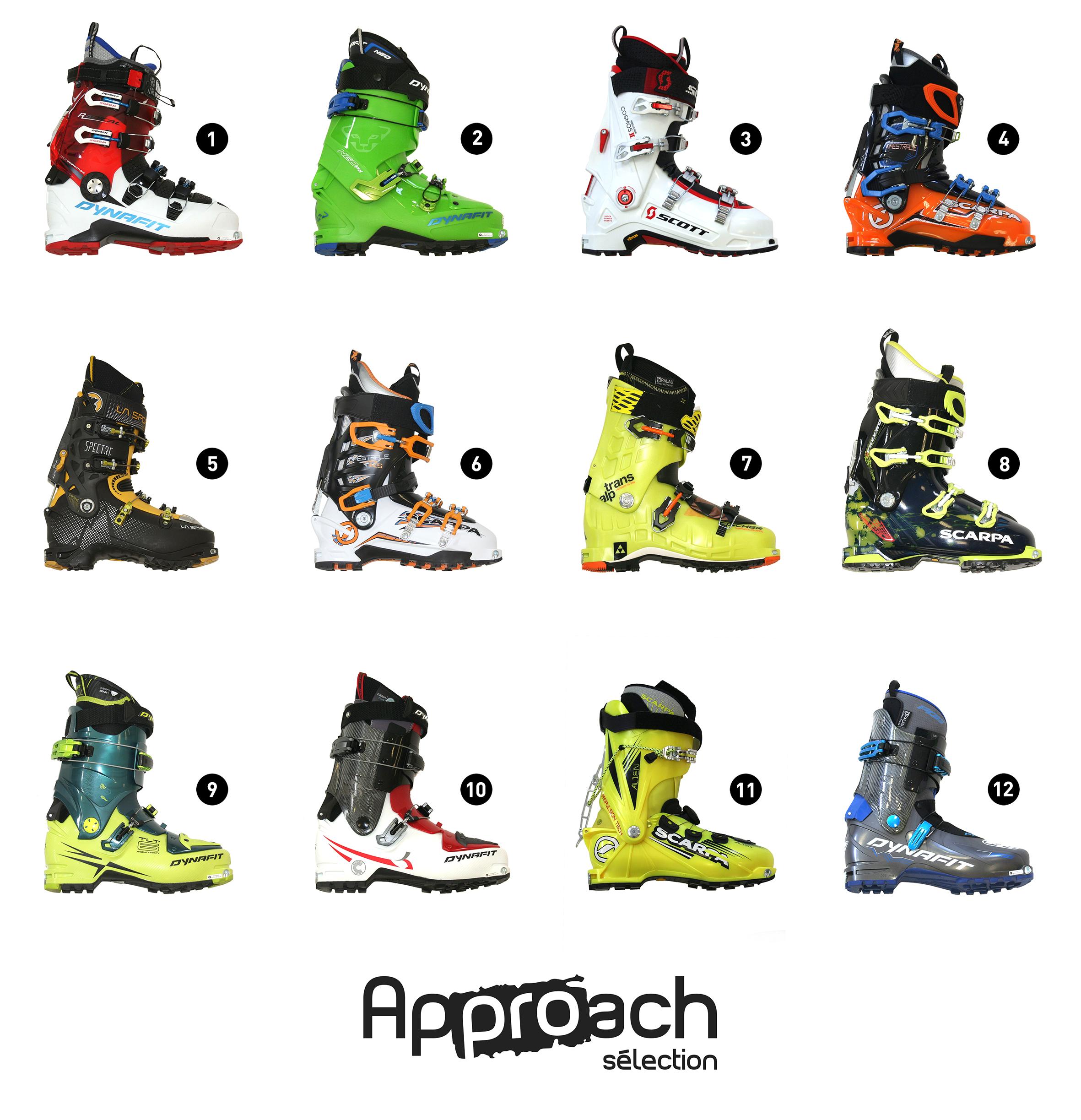 prix fou concepteur neuf et d'occasion se connecter Approach Sélection] Chaussures Ski de rando automne/hiver ...