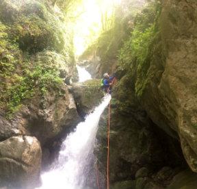 Canyon : test corde Pusch de Petzl