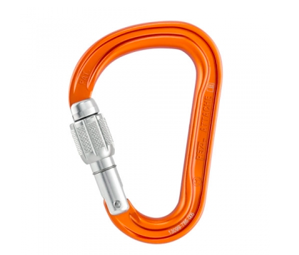 mousqueton attache screw lock petzl