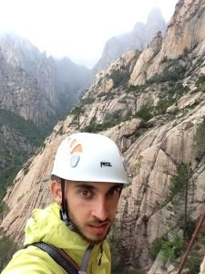 Yohan Trompette, responsable verticalité et ambassadeur Approach Outdoor