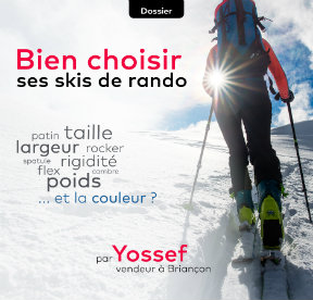 Bien choisir ses skis de randonnée
