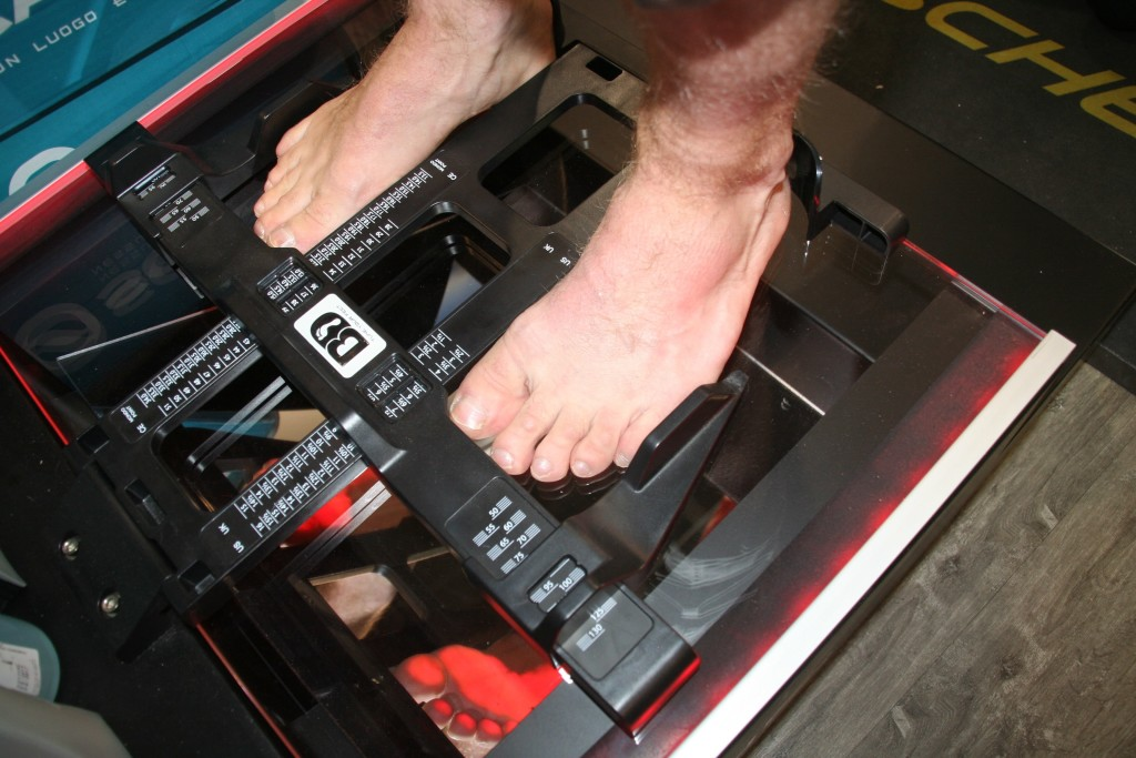 Mesure et analyse du pied