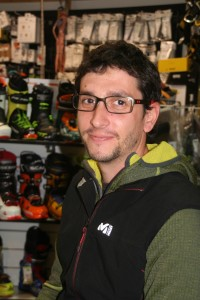 Yossef, vendeur Ski de rando - Approach Briançon