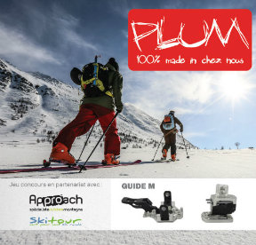 Jeu concours Approach Outdoor / Skitour