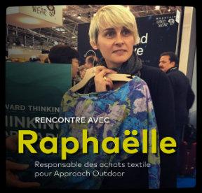 Raphaëlle, responsable achat textile