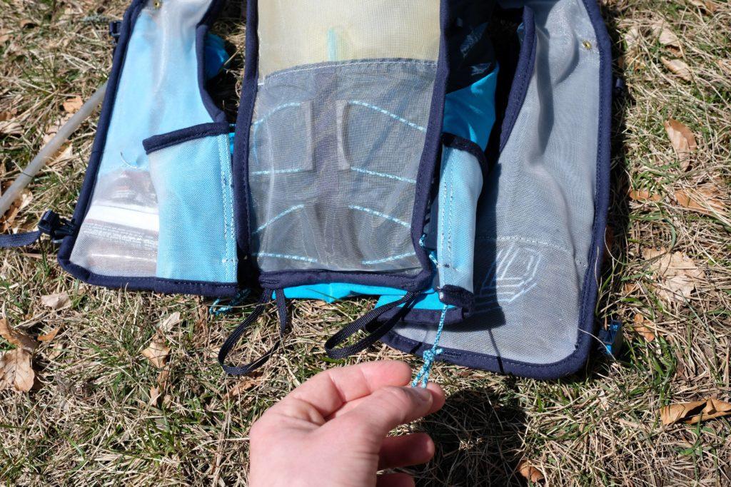 nouvelle technologie comfort cinch pour un meilleur ajustement du dos du sac