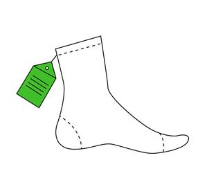 porter de bonnes chaussettes