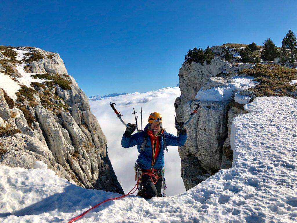 Sam Oddon Quark cascade de glace