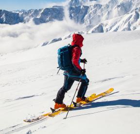 tenue ski de rando - Image zag