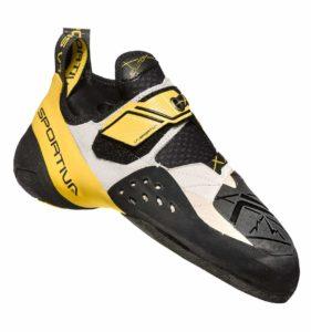 Exemple de chausson asymétrique : Solution - La Sportiva