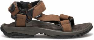Exemple de sandale de randonnée: Terra fi lite leather - Teva