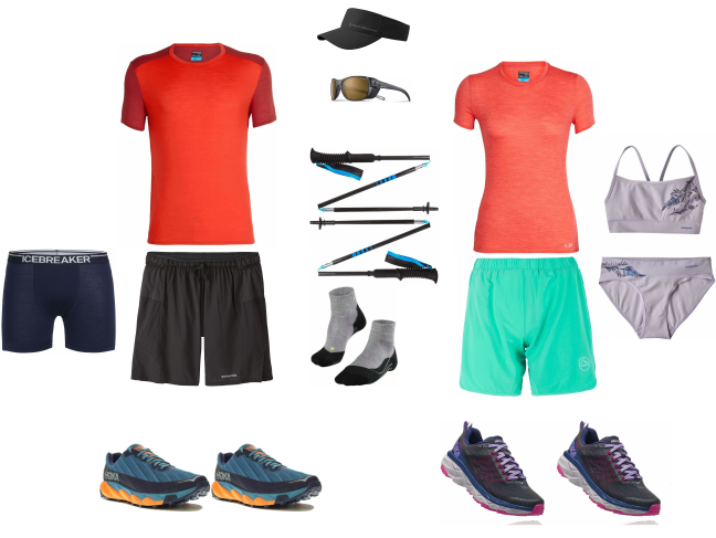 Tenue fast hiking