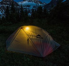 tente 2 places approach