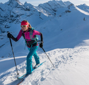 ski de randonnée léger