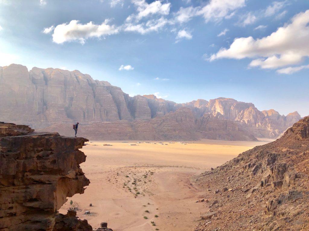 escalade Wadi Rum