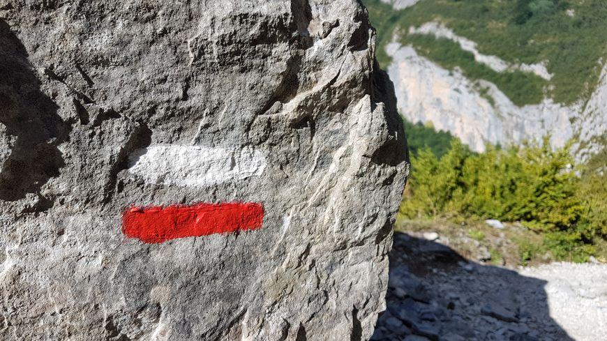 balisage GR rando trail